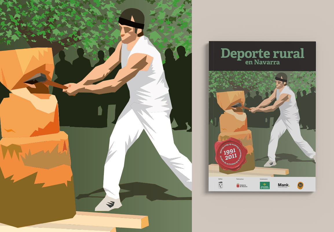 Fundación Navarra Herri Kirolak monografía 20 aniversario